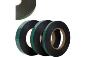 DOUBLE SIDED FOAM BLACK TAPES